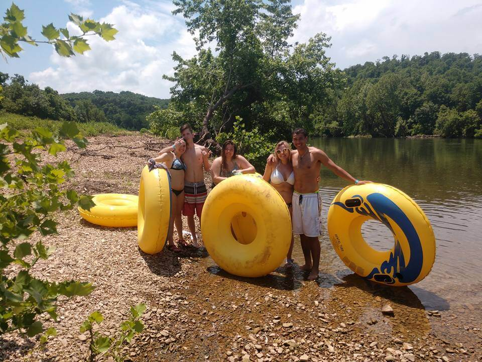 Camp Tomahawk James River Tube Floating