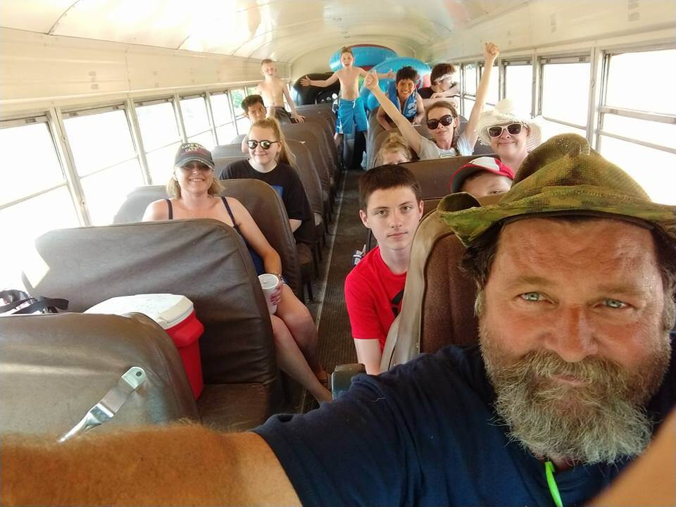 Camp Tomahawk Shuttle Bus Service
